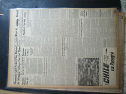 Olympic Games Newspaper 1952 Hammer And Sickle Flag Raised 1st Time Ussr Satellite