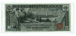 1 1896 Educational Silver Certificate Bank Note Xf Condition