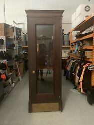 Antique Vintage Telegraph Booth Telephone Booth Movie Prop Tv Prop Euc