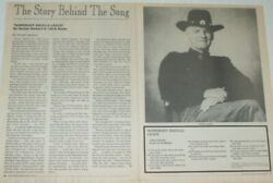 Harlan Howard Full Paged Magazine Celebrity Clippings Photos Article