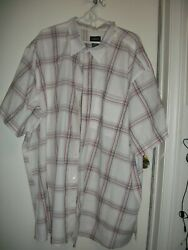 Lot Of 3 Bigand Tall Mens Casual Shirts By  Harbor Bay And Hb..... Size 4xl