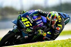 Wall Poster Valentino Rossi Poster Moto Gp Racing Poster 13 24x36