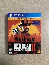 Red Dead Redemption 2 Ultimate Edition Playstation 4 / Ps4 Brand New Sealed