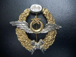 Wwi Ottoman Empire Turkey Germany Military Air Force Pilot Badge Medal Rare