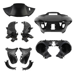 Abs Front Fairing Speaker Glove Box Air Duct Fit For Harley Road Glide Fltrx 15+
