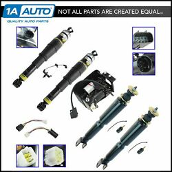 Arnott Complete Air Suspension Compressor And Shock Absorber Replacement Kit Set