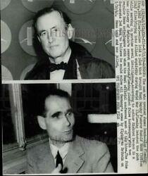 1969 Press Photo James Bond Author, Ian Fleming Credited With Luring Hess To Uk.