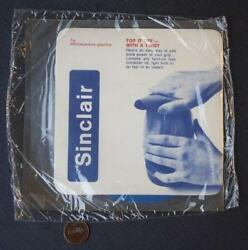 1970-80s Era Sinclair Arco Gas And Oil Service Station Unopened Rubber Jar Opener