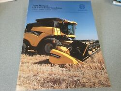 New Holland Cr920, Cr940, Cr960 And Cr970 Combines Brochure 28 Page