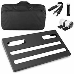 Soyan Large Metal Guitar Pedal Board 22rdquo X 125rdquo With Carrying Bag Self A