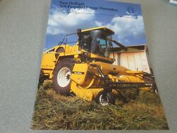 New Holland Fx30, Fx40 And Fx60 Self-propelled Forage Harvesters Brochure 20 Page