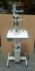 Marco G2 Slit Lamp With Haag-streit Hs04 Tonomoter And 365 Powered Lift Table
