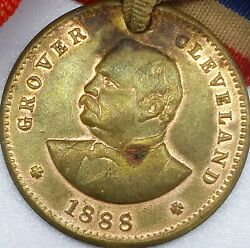 1888 G Cleveland Democratic Candidate For President Campaign Token