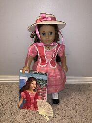 American Girl Doll Marie Grace With Meet Accessories Very Good Condition