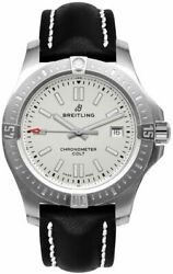 New Breitling Chronomat Colt Automatic Silver Dial Watch A17313101g1x1 On Sale
