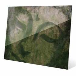 And039weathered Buddhaand039 Graphic Print On Glass Wall Art Multi Extra Large