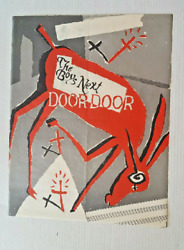 The Boys Next Door Hee Haw Poster 1979 The Birthday Party Nick Cave 22 X 17.5