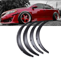 For Toyota Camry 4 Car Truck Cover Extra Wide Body Kits Wheel Fender Flares