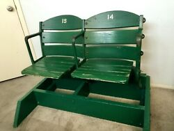 Very Old Vintage Authentic Wrigley Field Stadium Seats 40s-50s