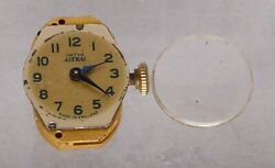 Ladies Smiths Astral Watch Movement, All Working Well, With Crystal. Keeps Time.