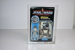 Afa 85 Star Wars Potf 1985 Kenner At-st Driver Moc Unpunched Clear