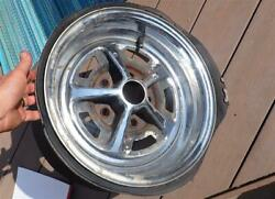 Vintage Magnum 500 Wheel 14x6 Gm 5 On 4.75 Direct Bolt Chevy Buick Olds Pontiac
