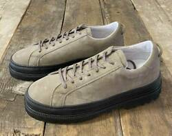 Men 10us 43 Amb Leather Sneaker Shoes 98sadt Thick Bottom No141 H6252