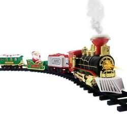 Diocast Model Educational Electric Train Toys And Tracks Steam Train Engine Kids