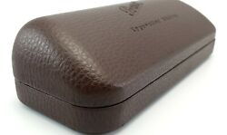 New Persol Typewriter Edition Sunglasses Hard Leather Case Brown 165 X 65 X 40