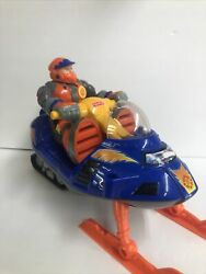 Fisher Price Rescue Heroes Bob Sled Arctic Tracker Snowmobile