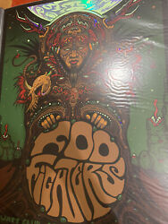 Foo Fighters Foil Poster 4/22/2020 Athens Ga Sold Out Prints Of Rare Cancelled