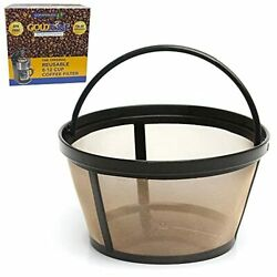 New Golden Mesh Filter Reusable Basket Coffee Filter For Mr Coffee Makers Brewer