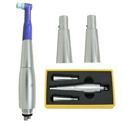 Dental Hygiene Prophy Handpiece 4 Holes Air Motor With 3 Nose Cones 360anddeg Swivel