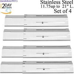 Universal Replacement Adjustable Heat Plate For Most Gas Grills Stainless Steel