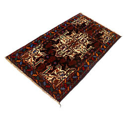 Traditional Beautiful Design Color Afghan Hand MAde Home Rug 133 x 80 cm 11749