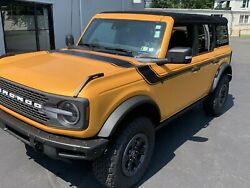 Fits 2021-up Ford Bronco Retro Special Decor Style Side/hood Graphics Kit Below