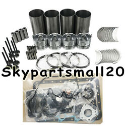 New Rebuild Overhaul Kit With Gaskets Valves Bearings Set For Liebherr R914 1pc