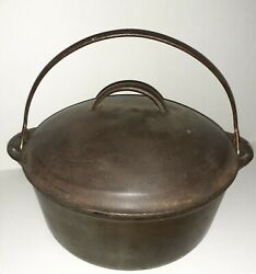 Griswold 8 Cast Iron Tite Top Dutch Oven Made In U.s.a.