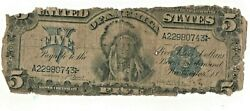1899 5 Indian Chief Low Grade