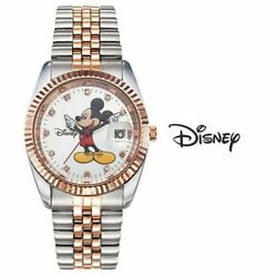 Wristwatch Mickey Mouse Metal Cubic Ow616dr