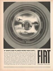 1964 Original Advertisingand039 American Group Fiat Torino If Ships And Planes Wore