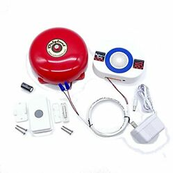 's Bells Warehouse Doorbell And Wireless Chime Kit Including Pushbutton