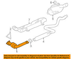 Gm Oem-exhaust System-catalytic Converter And Pipe 20889270