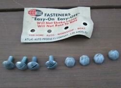 Vintage Nos License Plate Attaching Screws Real Deal 1960and039s Factory Applications