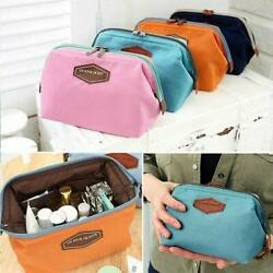 Women Multifunction Makeup Cosmetic Bag Travel Toiletry Case Pouch Purse Box C $3.77