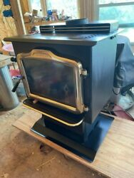 Harman Exception Tl200 1995 Wood Stove With Cast Iron Base