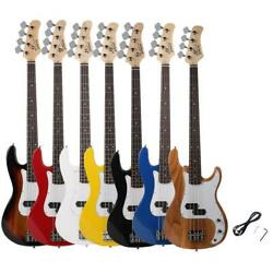 New 8 Colors 4 Strings Electric P Bass Guitar Musical Instruments For Beginner