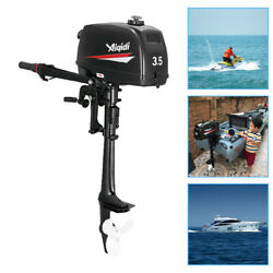 2 Stroke 3.5hp Outboard Motor Marine Boat Engine Cdi Water Cooling + Tool Kit