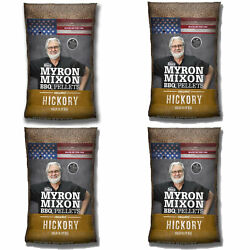 Myron Mixon Smokers Wood Bbq Pellets For Smoking And Grilling, Hickory 4 Pack