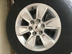 2019 Chevy Silverado 1500 Oem 17in Rims And Tires Set Of Four 800